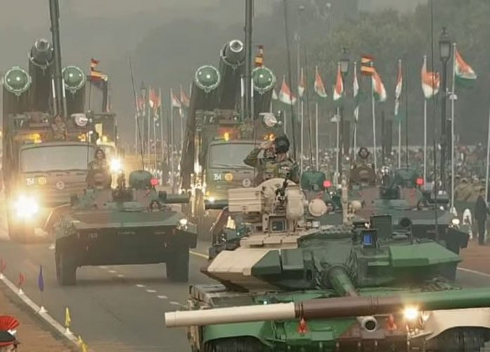 Cultural heritage, military might on display on Republic Day