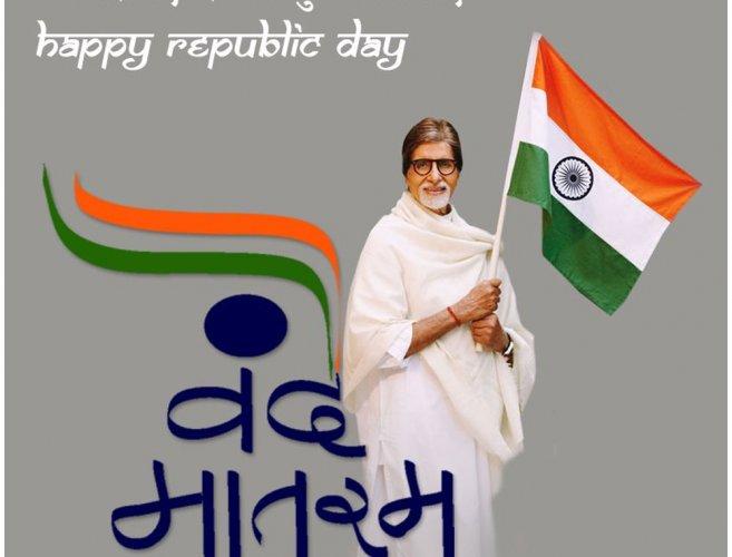 Bollywood stars wish happy Happy Republic Day to fans