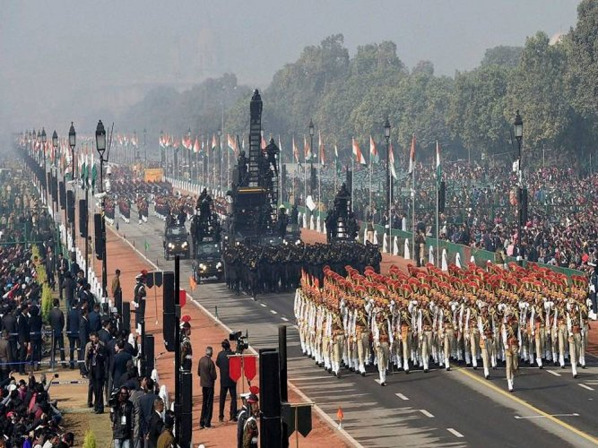 India displays military might, NSG makes debut in Republic Day parade