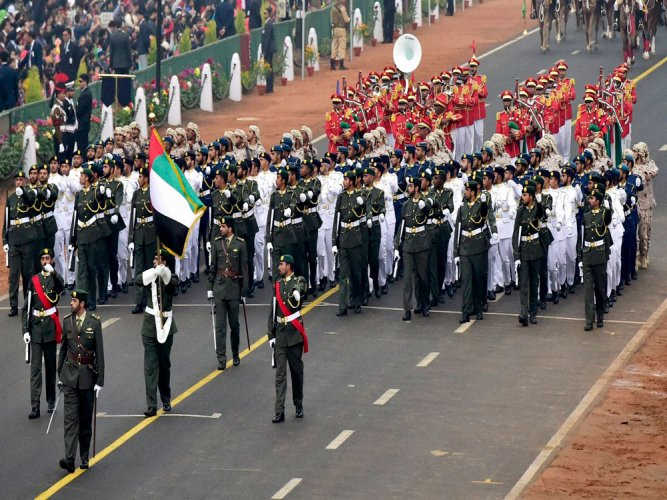 UAE contingent leads R-Day parade