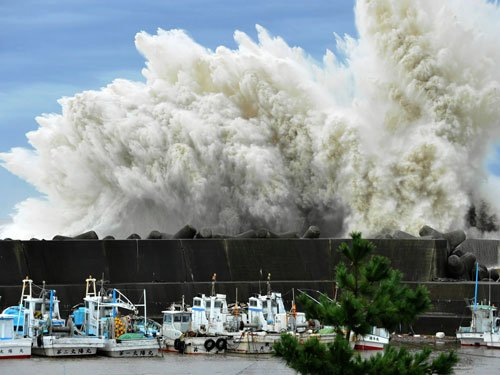 'Novel mechanism may stop tsunamis in their tracks'