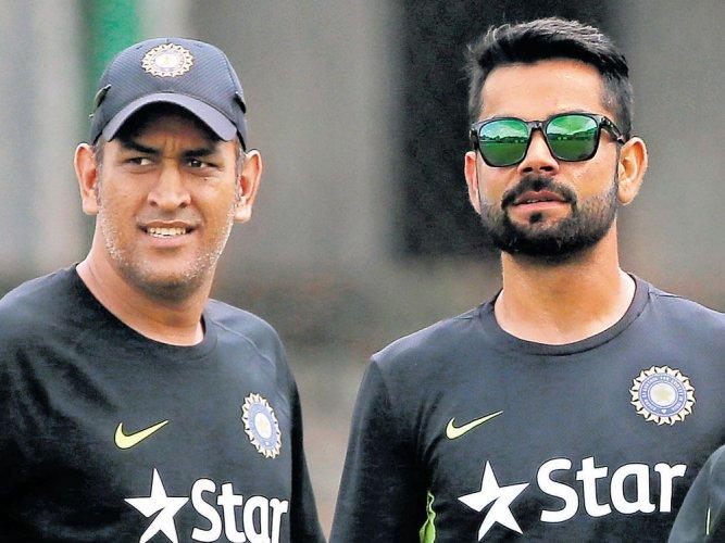 Kohli slips, Dhoni rises slightly in ICC ODI rankings