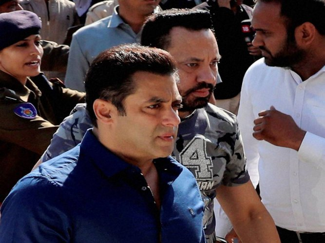 Salman Khan records statement in blackbuck poaching case