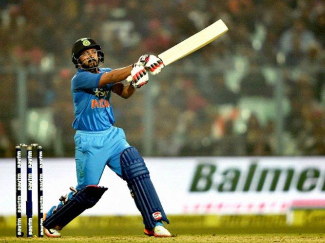 Series against England turning point of career: Kedar Jadhav