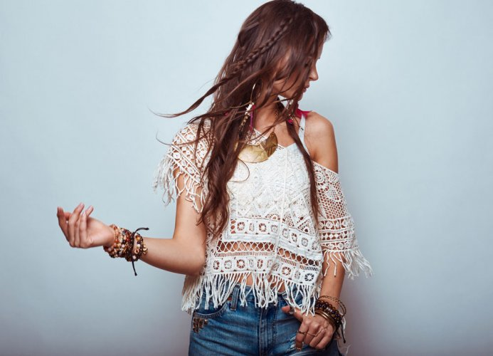Break the rules, rock the boho look