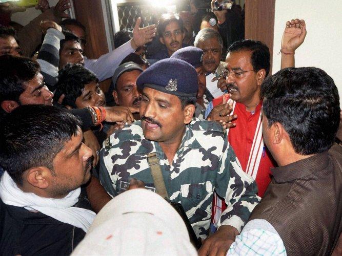 BJP faces rebellion in Modi's constituency