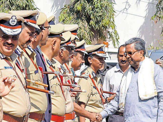 State mulls KSRP buses with toliets for women constables on duty