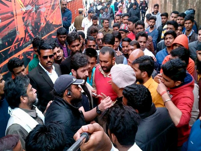 Ruckus on sets of Padmavati: Detained persons released