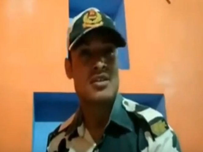 Another BSF jawan posts video, claims liquor for force sold to outsiders (video)