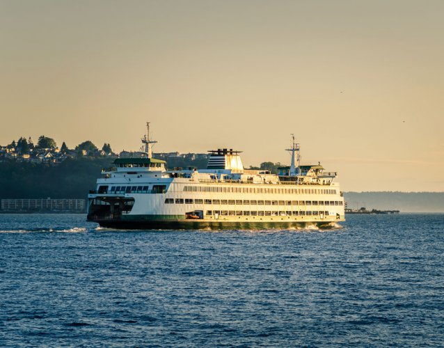 A stunner off Seattle