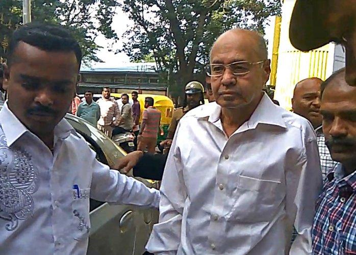 Justice Bhaskar Rao gets conditional bail
