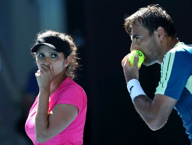 Sania and Dodig end runner-up at Australian Open