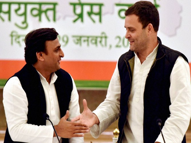 UP tie-up an 'Uttar' to BJP's divisive politics of anger:Rahul