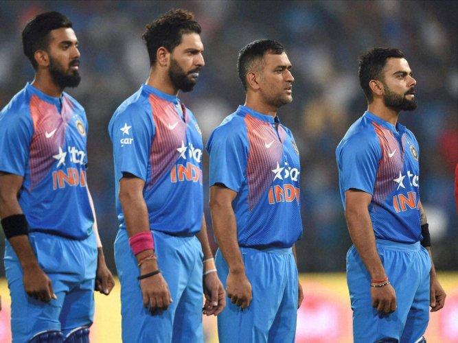 India Players Wear Black Armbands Deccan Herald