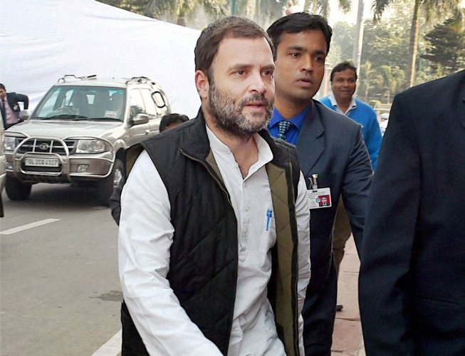 RSS case: Court adjourns hearing till Mar 3 for recording Rahul's plea