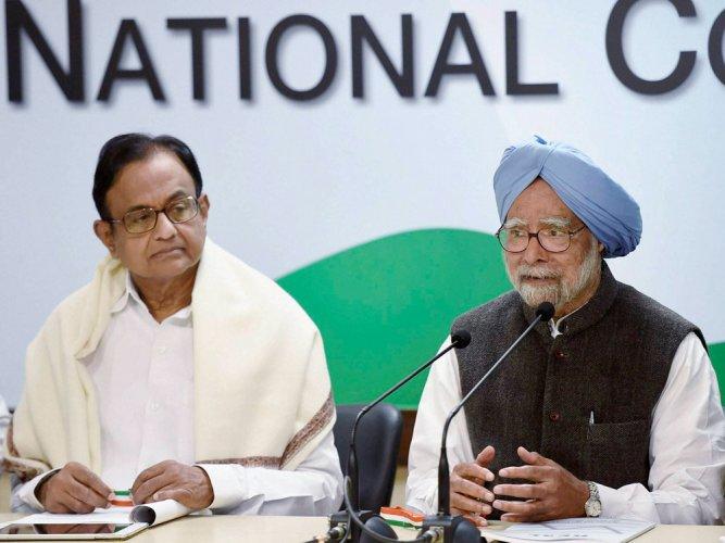 Mallya issue: Manmohan, Chidambaram rubbish BJP's allegations