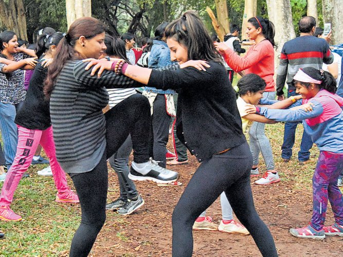 Martial art institutes see sharp increase in female enrolments