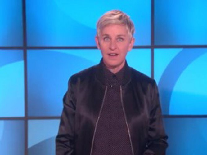 Ellen DeGeneres uses 'Finding Dory' to slam immigration ban