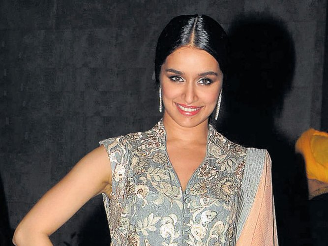 Shraddha Kapoor feels lucky to have the 'best team'