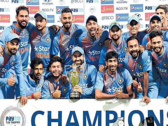 Chahal turns it India's way