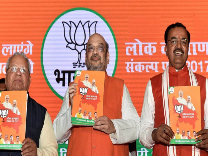 Ram temple in BJP manifesto draws flak from opponents in Mathura
