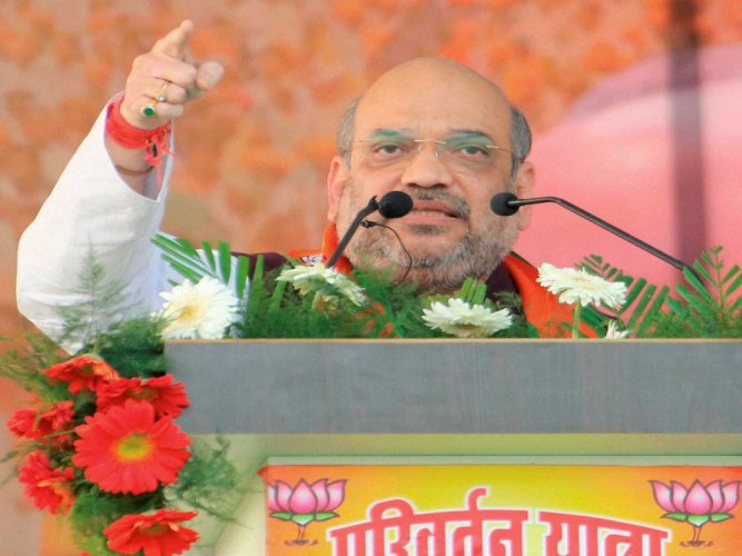 Shah cancels Meerut foot march, says UP nation's crime capital