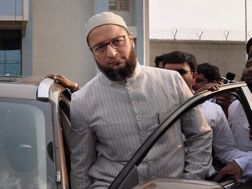 UP will give triple talaq to SP, Cong & BSP: Owaisi