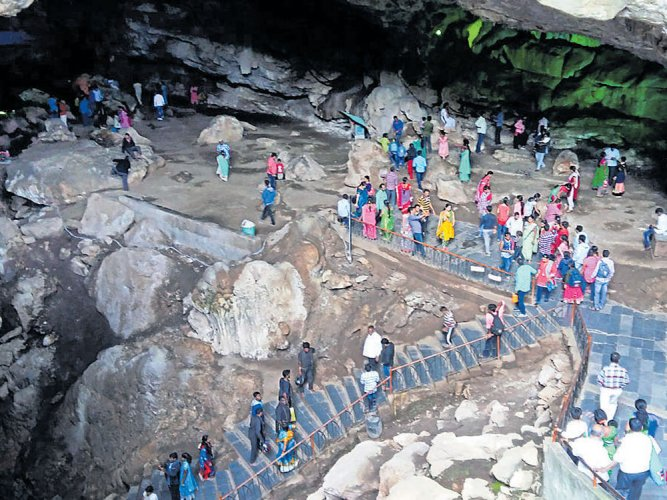 Borra Caves in contention for world heritage tag