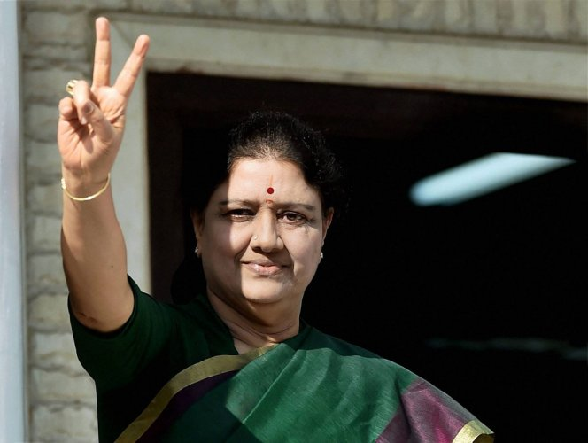 Sasikala takes full control of party and govt