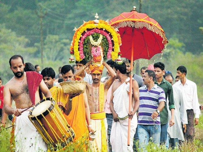 A unique temple festival