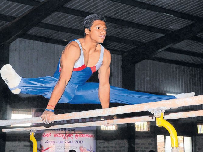 Ujwal stars with five medals