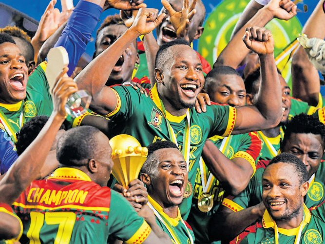 Cameroon emerge champs