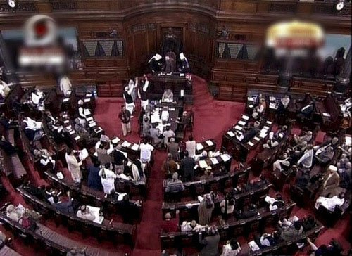 UP polls may bail out govt in Rajya Sabha