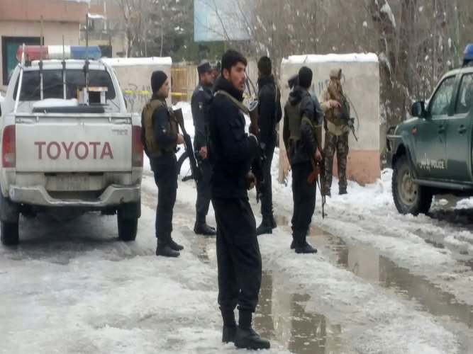 Suicide bomber kills 20 at Afghanistan's top court