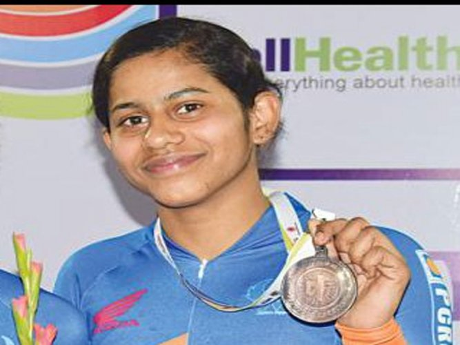 Deborah misses bronze, Aleena bags 2nd medal in Asian Cycling