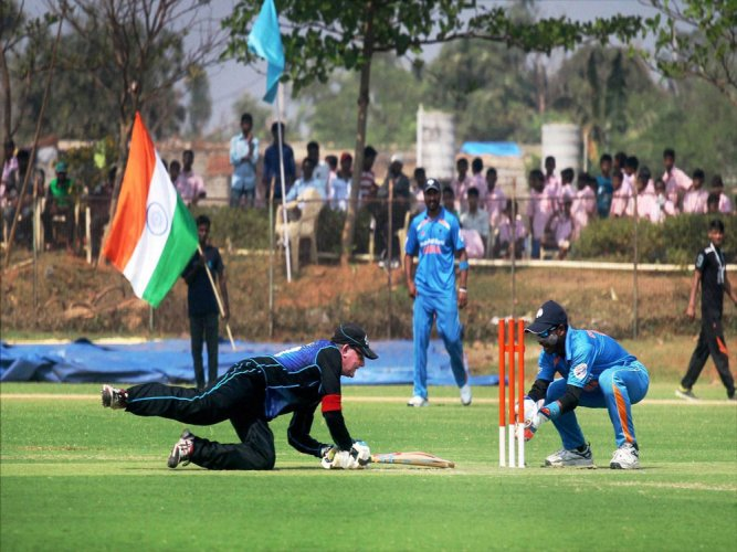 India thrash NZ in T20 World Cup for Blind