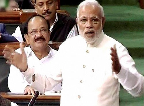 'Modi's speech in House unmasks  BJP's challenges in UP'