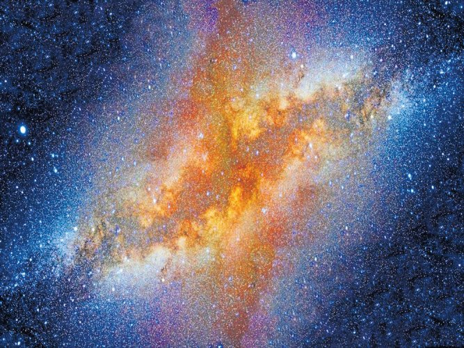 Bridge of stars connects two largest galaxies of Milky Way