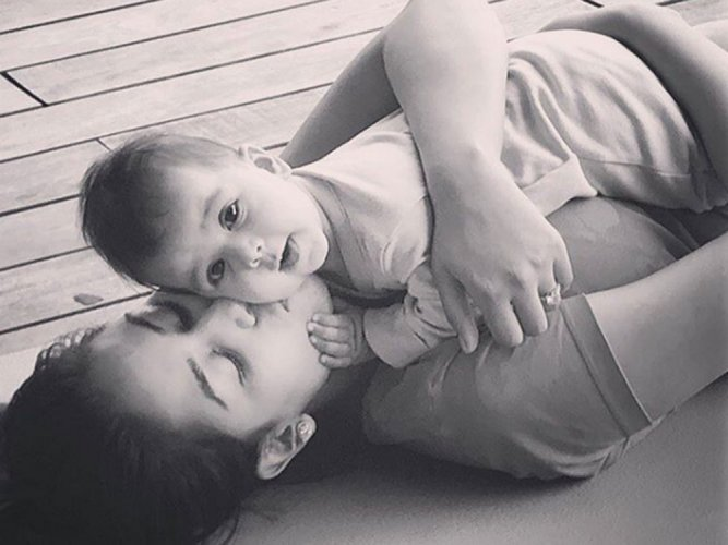 Shahid Kapoor shares first picture of daughter Misha