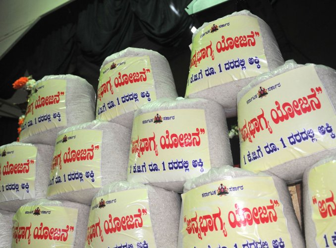 More rice under Anna Bhagya; milk 5 days a week for kids