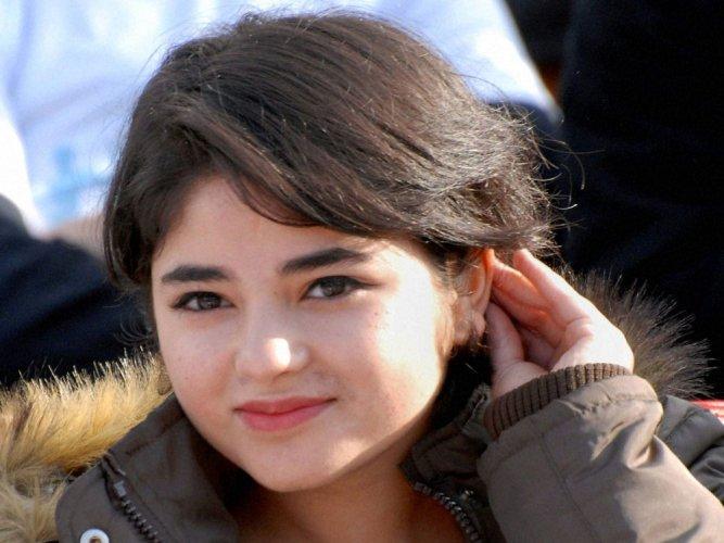 As a teenager life in Kashmir was little different: Zaira Wasim
