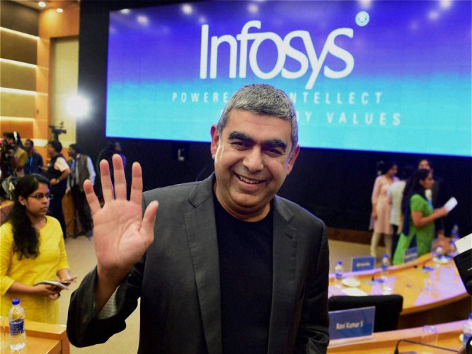 Don't be distracted by gossip about Infosys: Sikka to workers