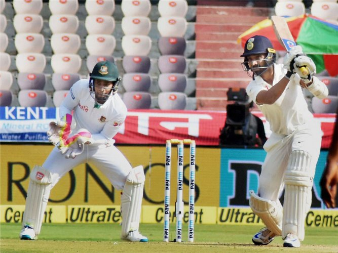 Kohli doubles India's delight
