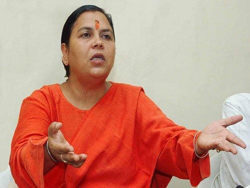 Rapists should be tortured: Union minister Uma Bharti