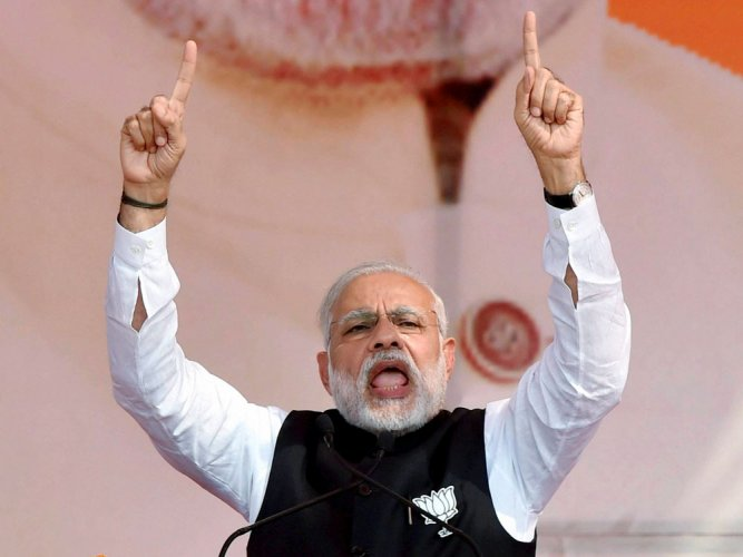 Remove govt which sullied Devbhoomi's image: PM at Ukd rally