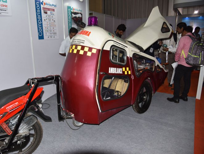 Not just any other bike ambulance