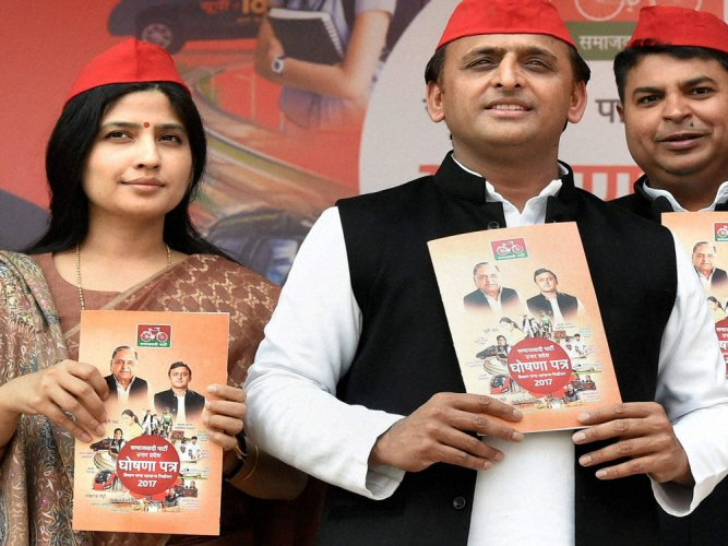 UP manifestos: Sops to farmers stay put, tech makes inroads