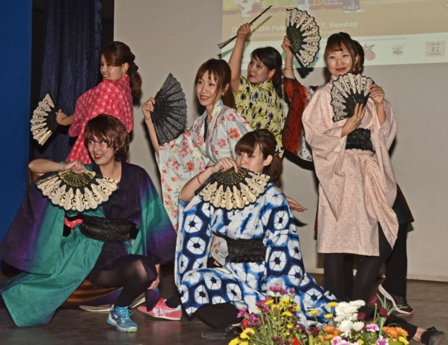 Japanese culture, cuisine, traditions come alive