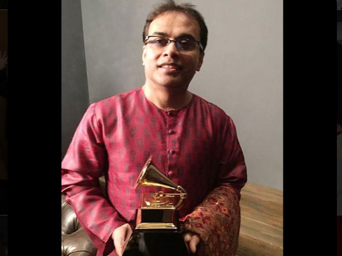 Proud to represent India at Grammys: Sandeep Das