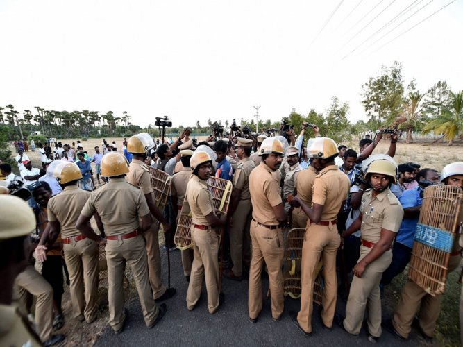 Security tightened in TN after SC verdict in DA case